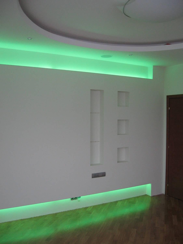 Подсветка на стену как сделать фото
