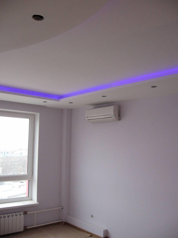 Подсветка на потолке своими руками фото